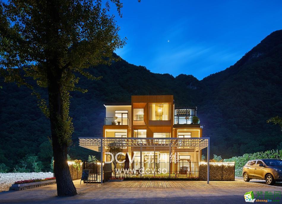 西安南山里民宿酒店設計引領簡約時尚風