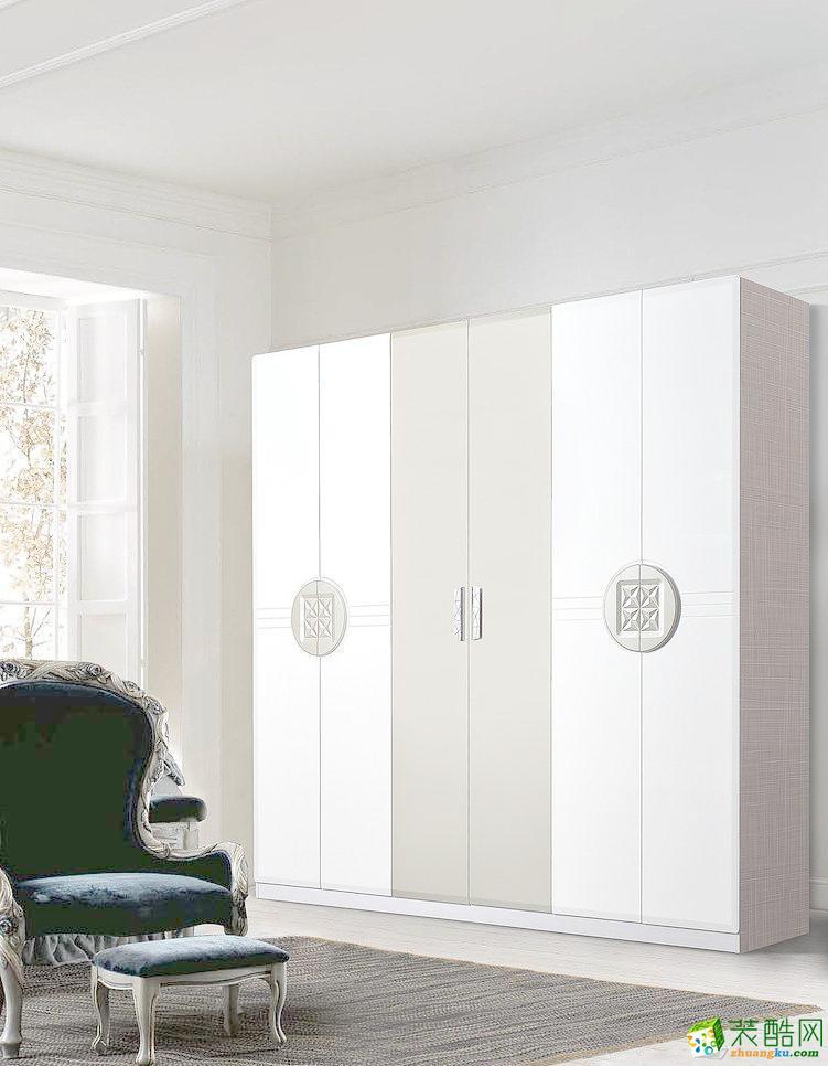 衣柜  120�O现代美式混搭风家居装修