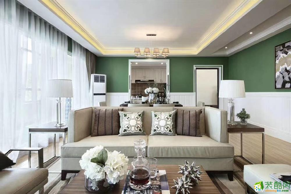 甘肃木清华装饰设计有限公司-三室两厅一卫