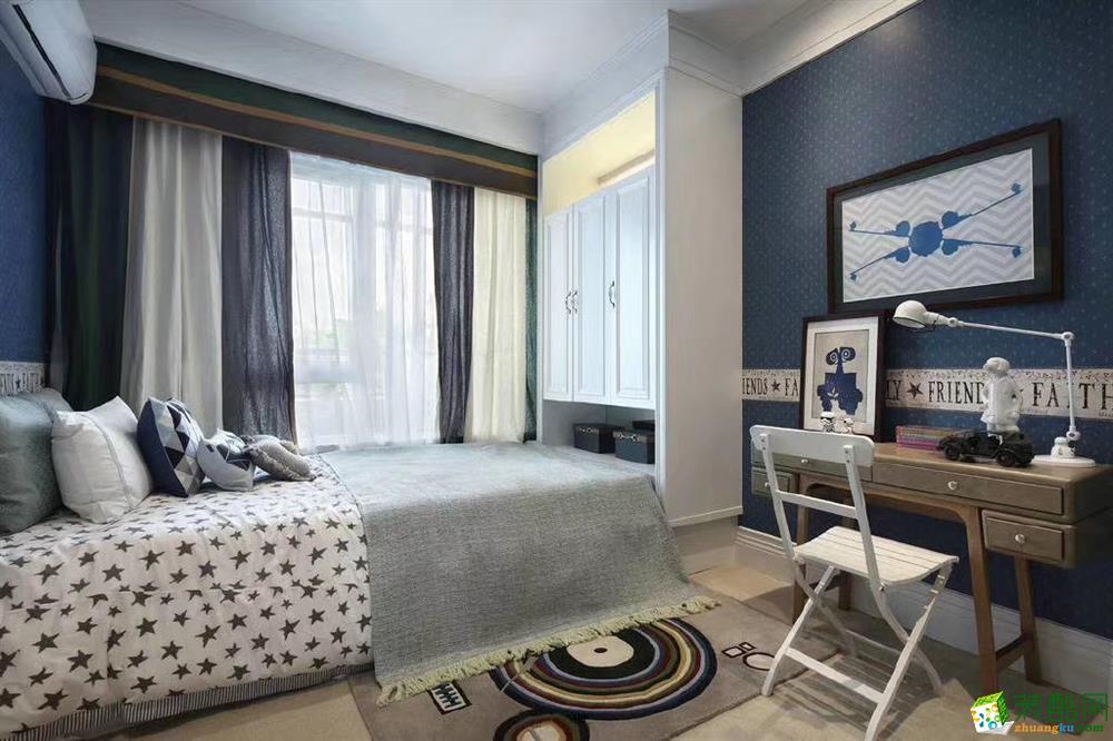 卧室  120�O现代美式混搭风家居装修