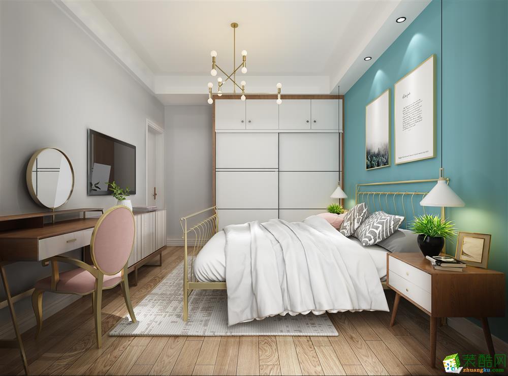 卧室 北欧现代风格装修效果图 北欧现代风格