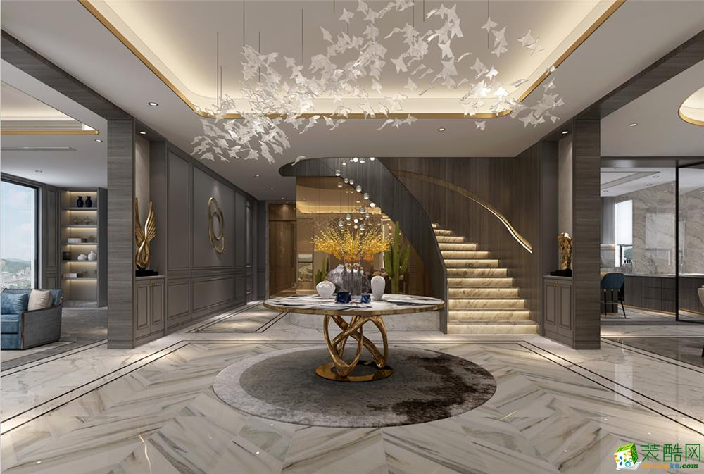 乔爱庄园600平独栋别墅设计
