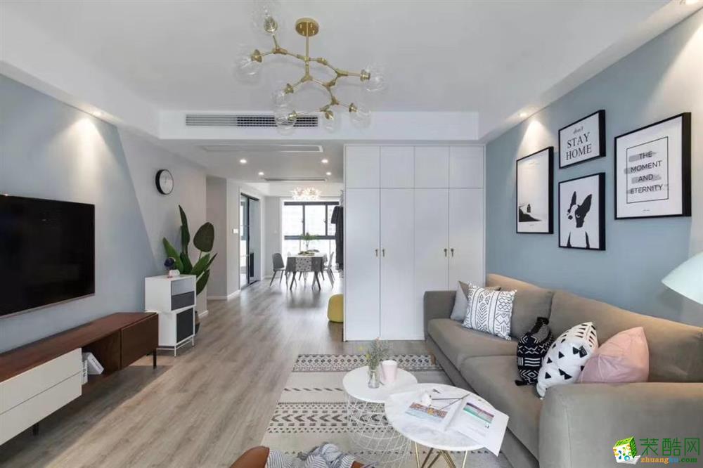 甘肃木清华装饰设计有限公司-两室两厅两卫
