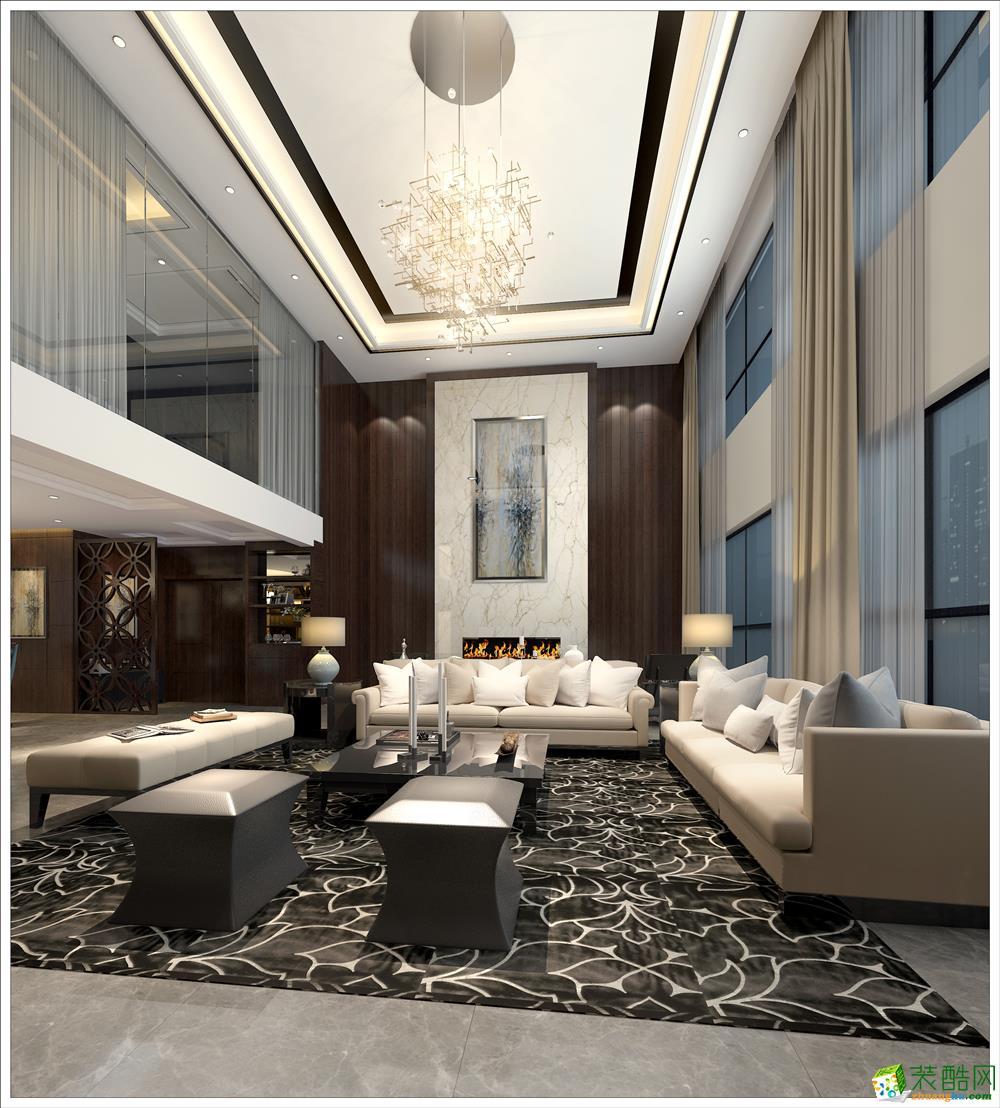 客厅  颐明园-现代奢华