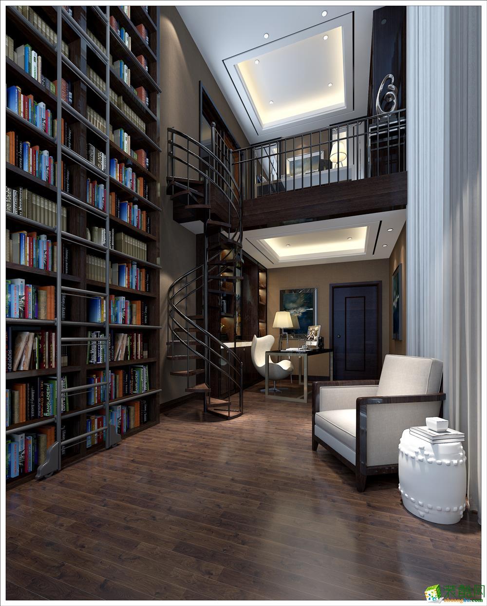 书房  颐明园-现代奢华