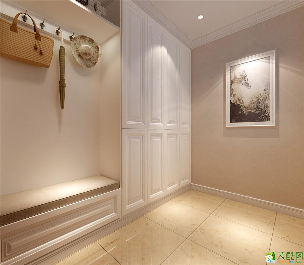 >> 保亿风景水岸350平米美式风格别墅项目装修设计效果图--腾龙设计