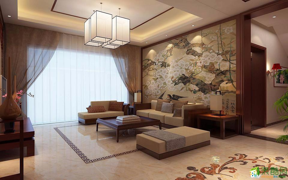 易居装饰-120平中式风格装修效果图