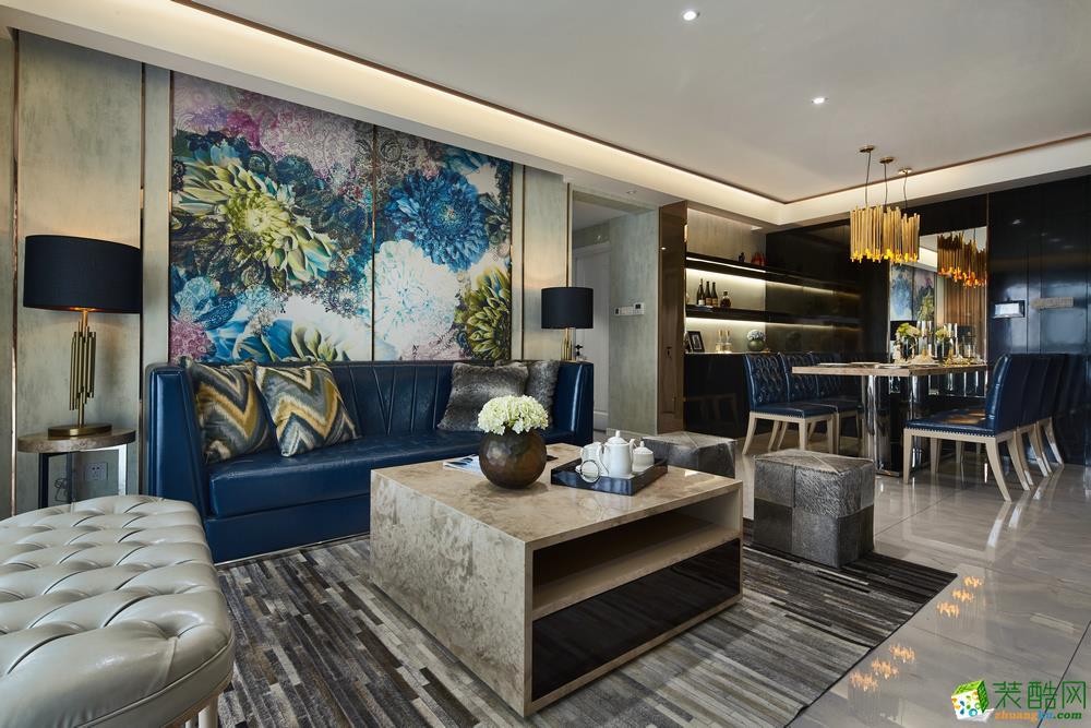150㎡新中式家居_中式风格-三室两厅一卫