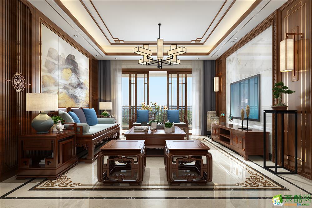 龙发-雍景湾-新中式风格