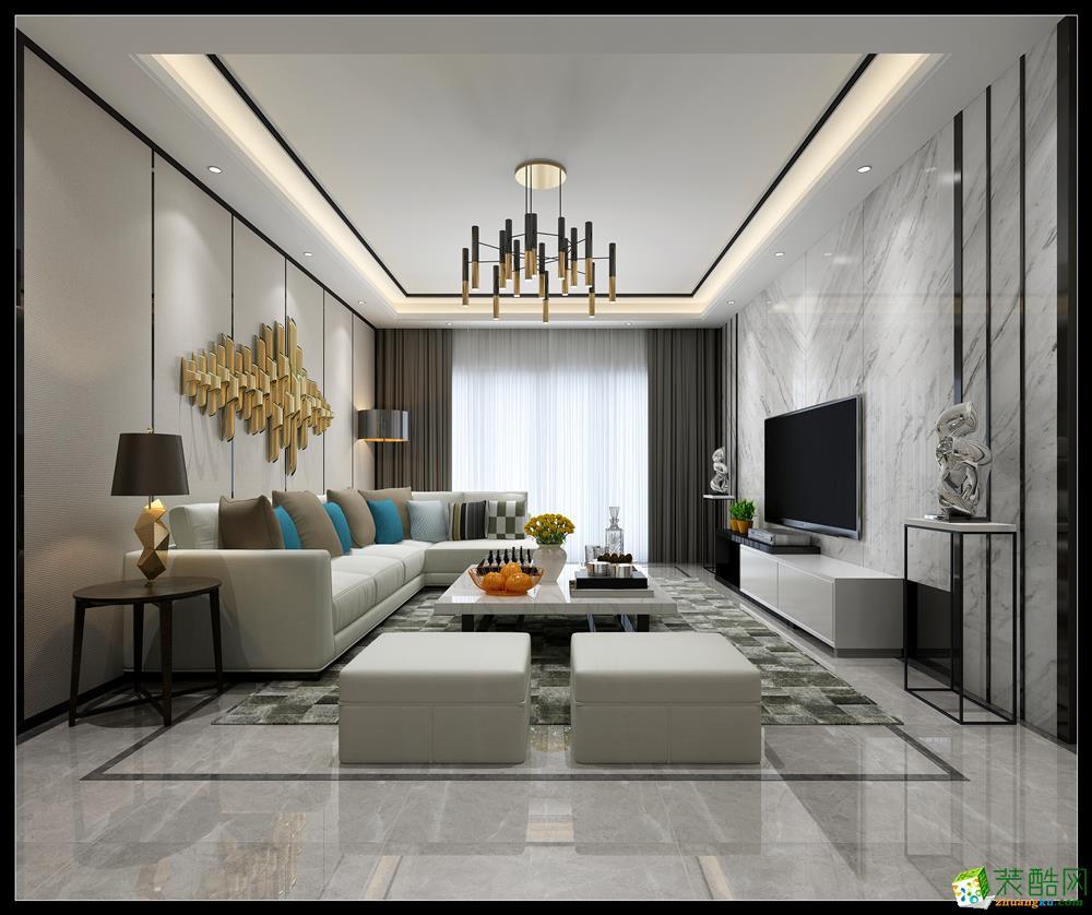 龙发-新新家园-现代简约风格