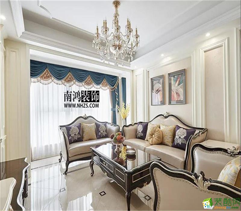 |南鸿装饰|钱江府 三居  128方  新古典风格