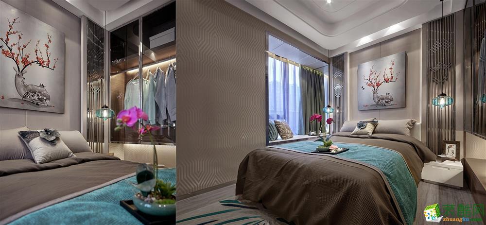 卧室  99�O新中式家居装修