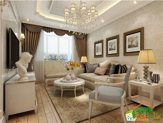 宅速美装饰高新大都荟89平米欧式风格