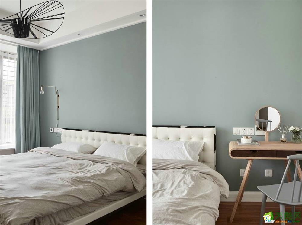 卧室 【维享家】湖霞郡100平米北欧风格三室一厅装修案例效果图赏析。 【维享家】湖霞郡