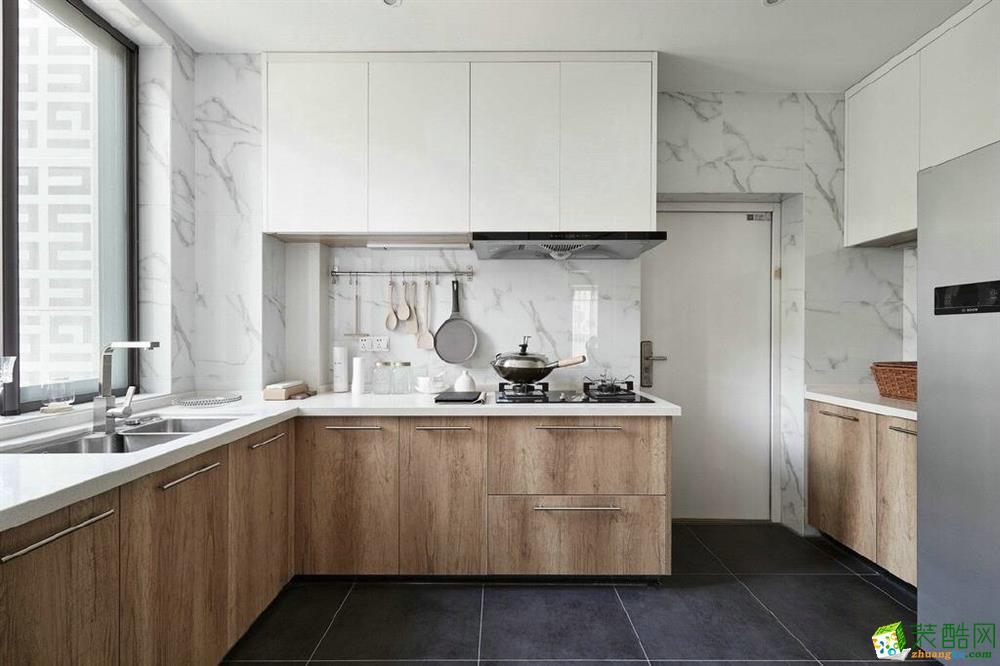 厨房 【维享家】湖霞郡100平米北欧风格三室一厅装修案例效果图赏析。 【维享家】湖霞郡