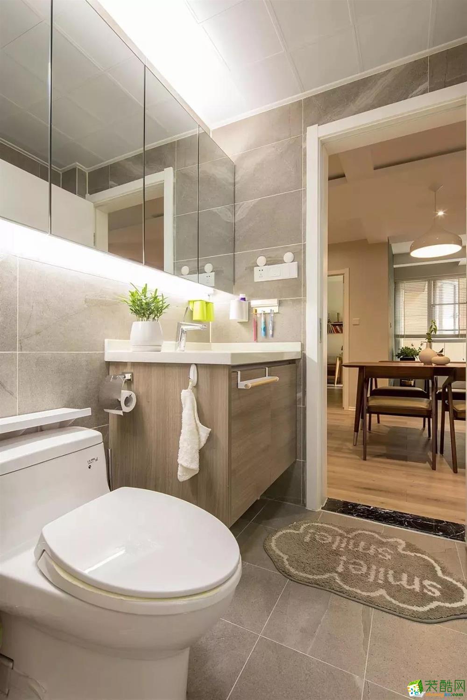 卫浴  96�O自然原木风,营造很高级的感觉!