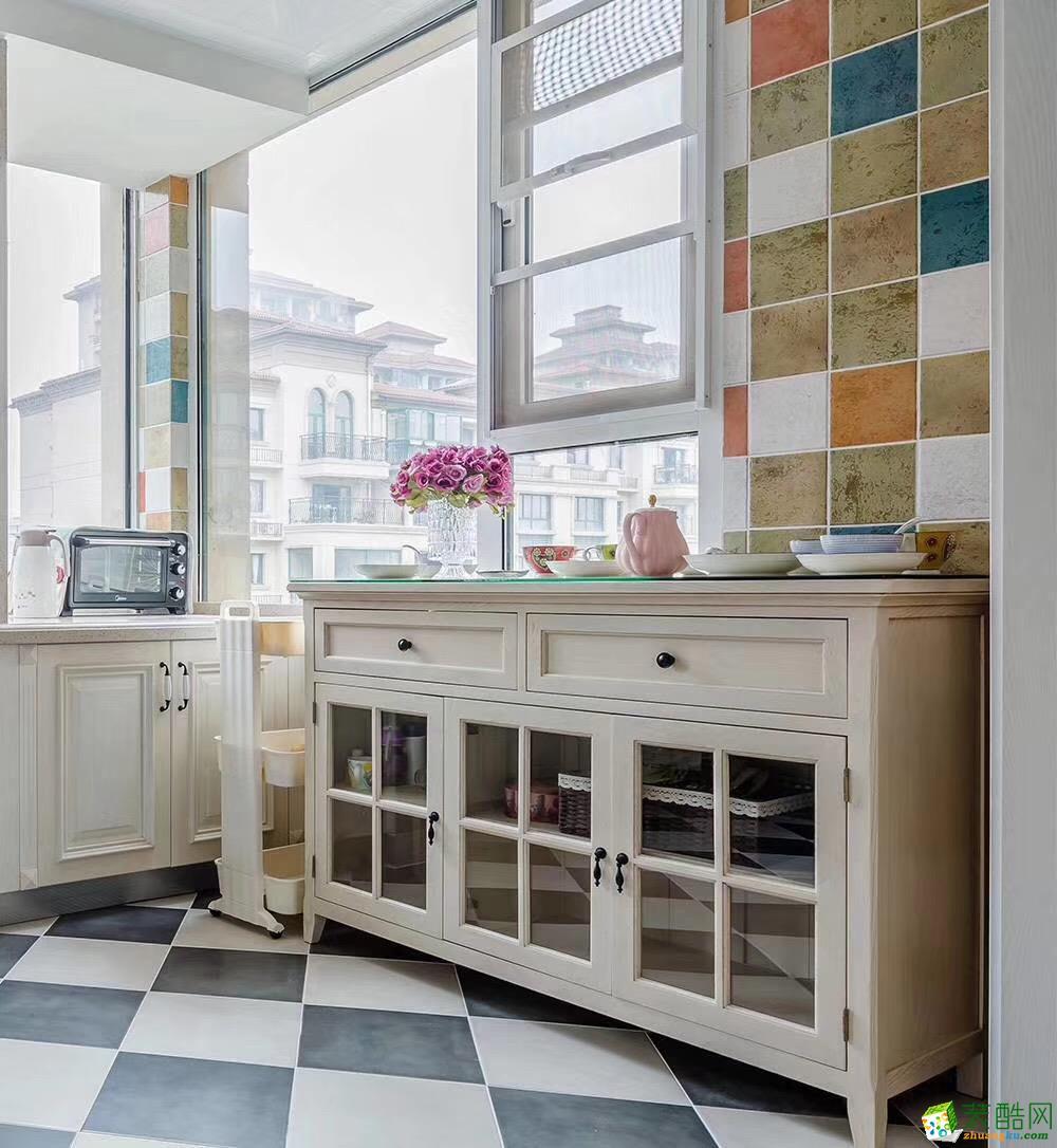 甘肃木清华装饰设计有限公司-两室两厅一卫