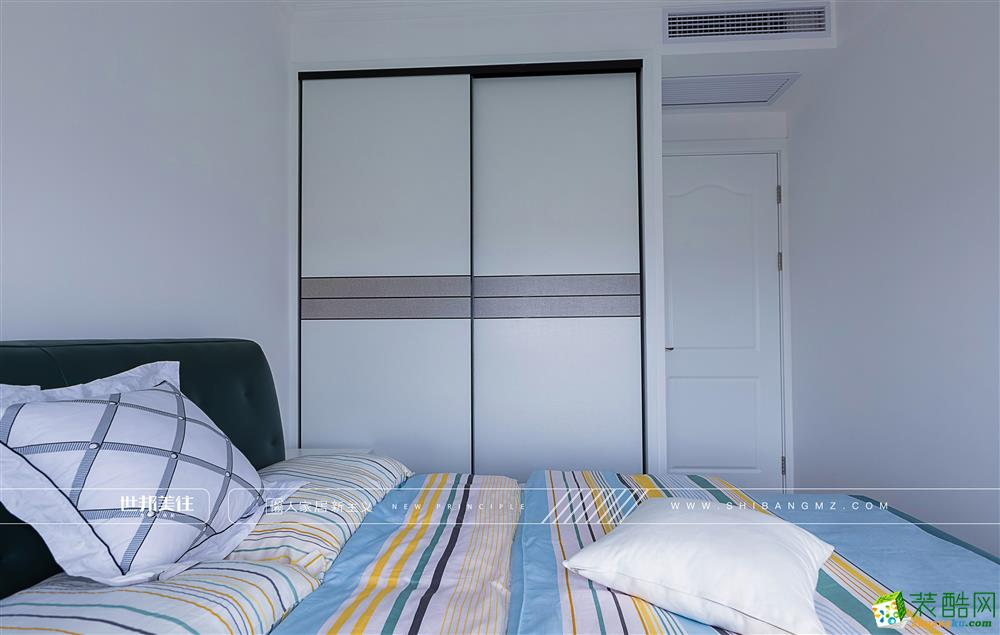 【世邦美住】武林九里90方三室两厅北欧风格装修效果图
