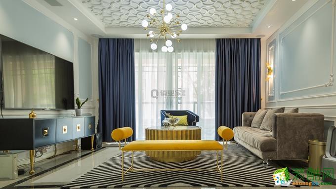 凡尔赛三室|简约法式风格装修