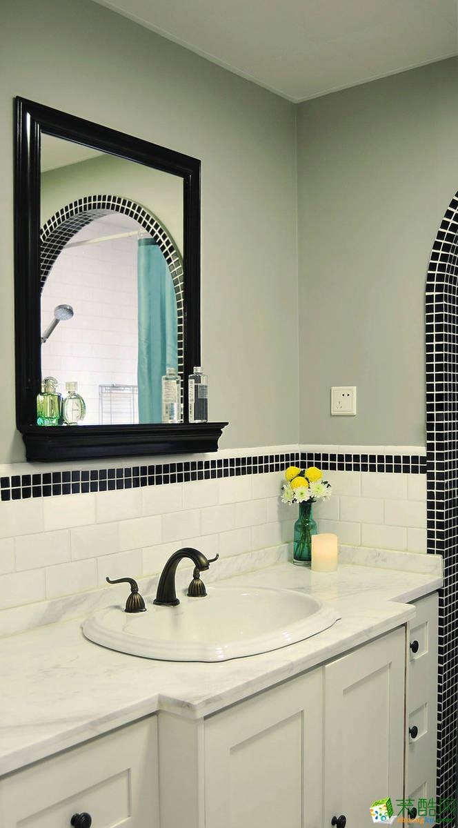 卫浴 11万120平混搭风三居室装修效果图-阳光城紫金城 阳光城紫金城