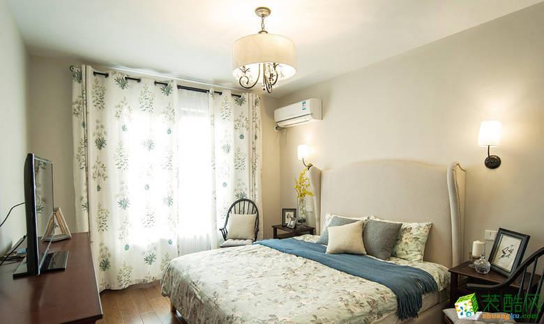 卧室 11万120平混搭风三居室装修效果图-阳光城紫金城 阳光城紫金城