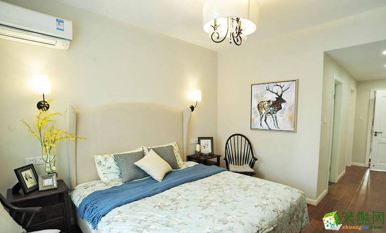 卧室 11万120平混搭风三居室装修效果图 阳光城紫金城