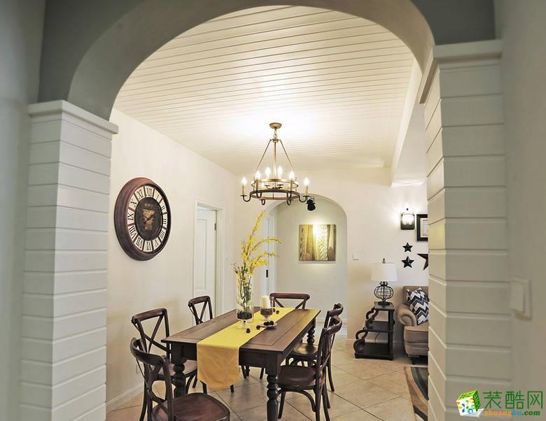 餐厅 11万120平混搭风三居室装修效果图-阳光城紫金城 阳光城紫金城