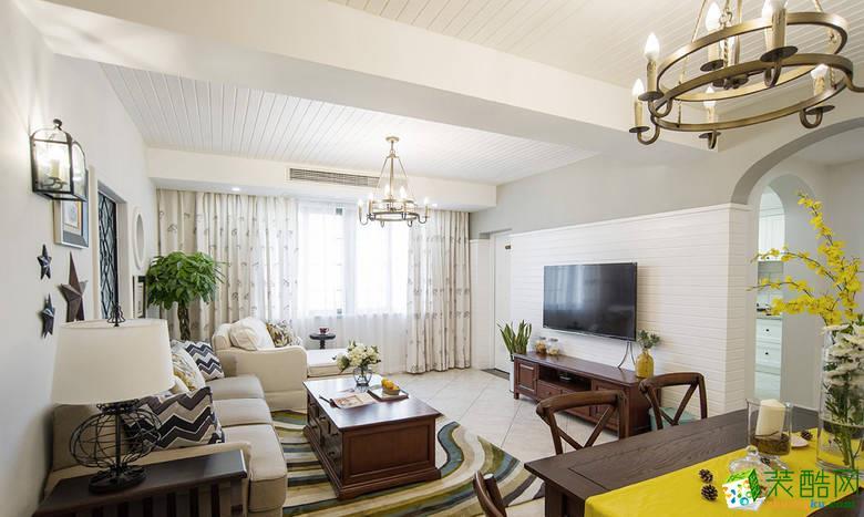 客厅 11万120平混搭风三居室装修效果图-阳光城紫金城 阳光城紫金城