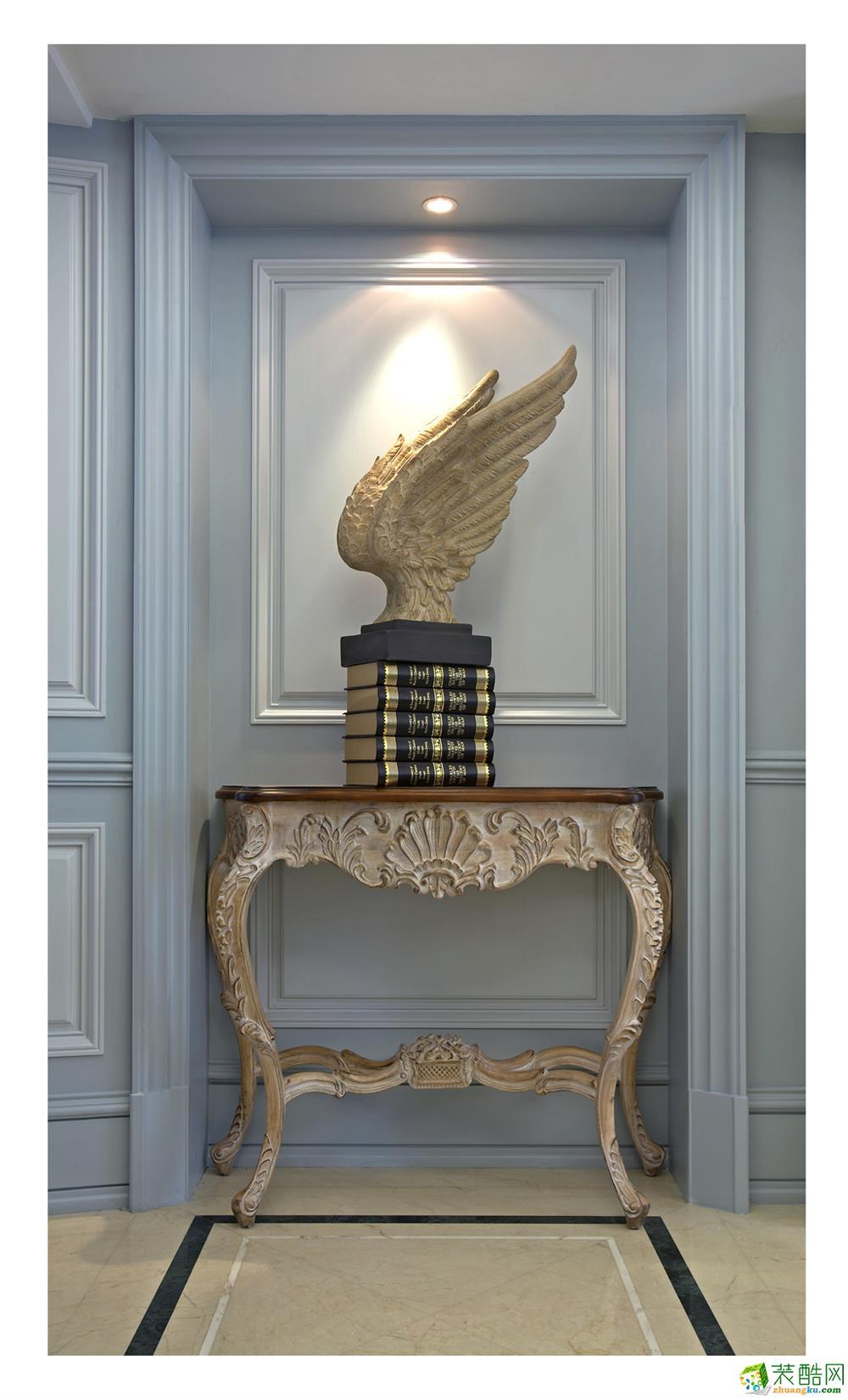 软装饰 美式古典风格装修效果图欣赏 美式古典风格