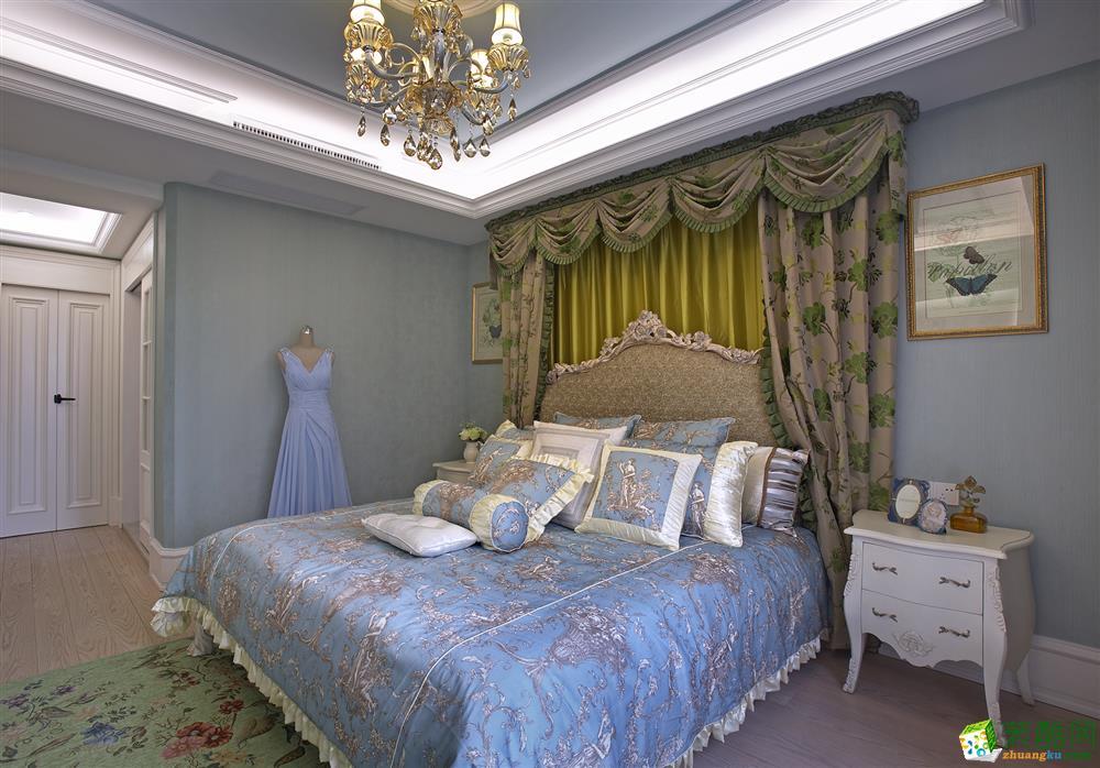 卧室 美式古典风格装修效果图欣赏 美式古典风格