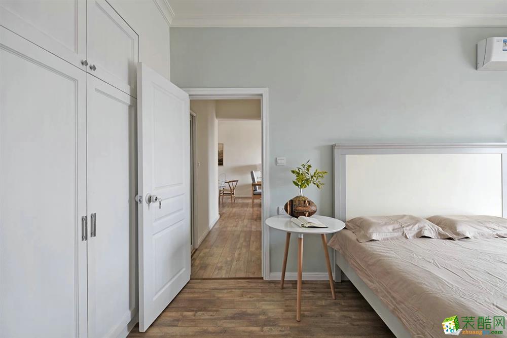 卧室  天盛华山珑城原木色系案例