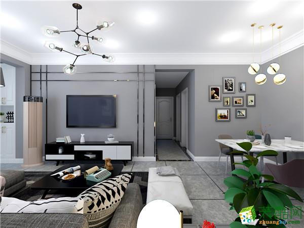 绿地现代风格 四室5万以下现代