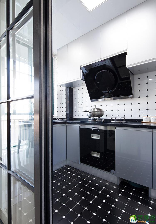 厨房 现代简约风装修效果图-长乐坊小区 110平9万现代简约风装修效果图-长乐坊小区