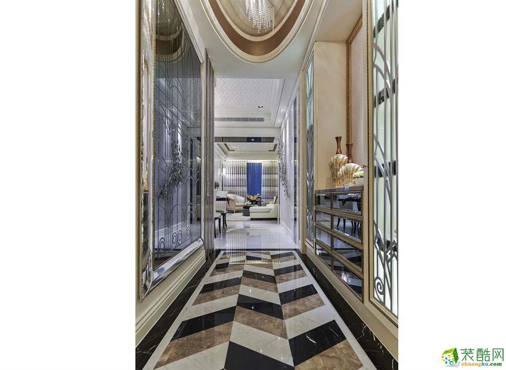 【众意装饰】绿地圣路易名邸 新古典风格