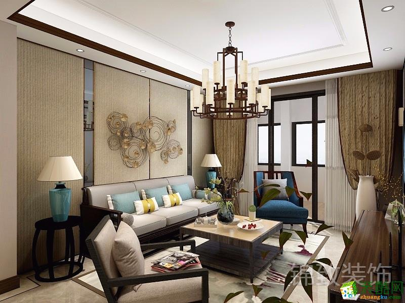 锦致装饰―ICAR小区116方中式风格三居室装修