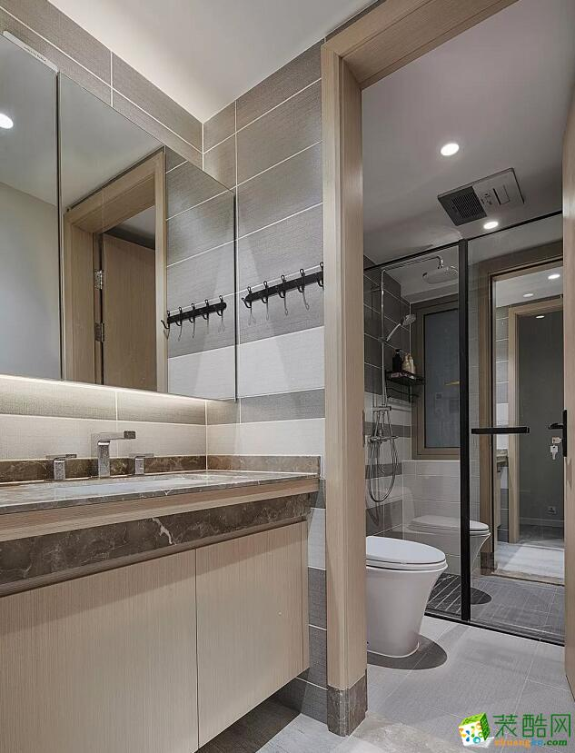【祥和家园装饰】165平方大户型现代简约风格装修效果图