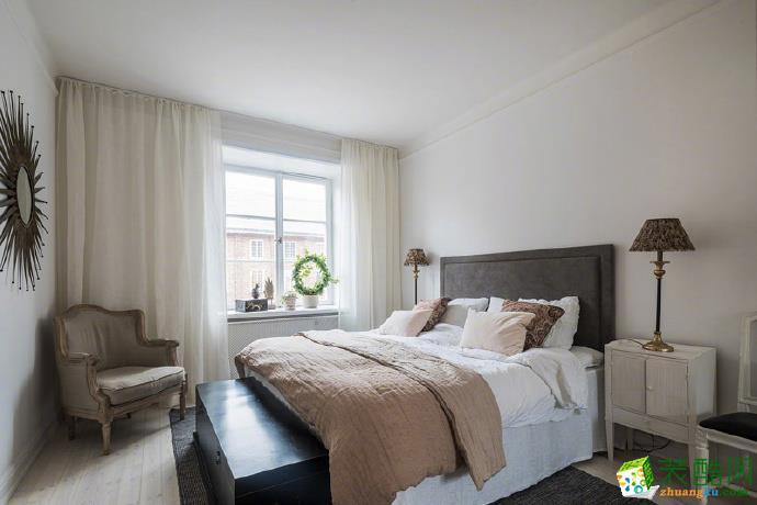 【亿佰居建筑装饰】60平方现代简约公寓装修效果图