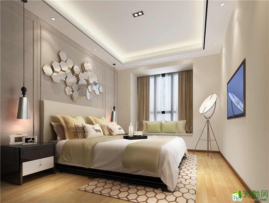 【三叶石装饰】竹园清水湾131平方现代风格装修效果图