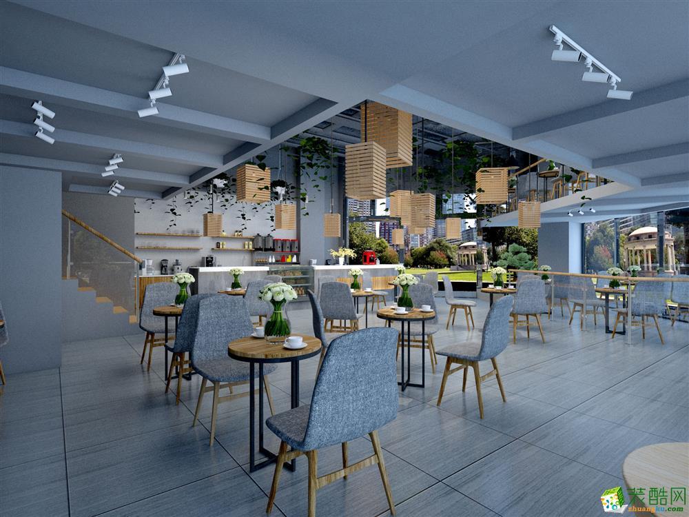 170㎡北欧风格咖啡厅