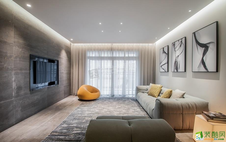 安居小苑150平米现代简约风格四室两厅装修案例图--天古装饰