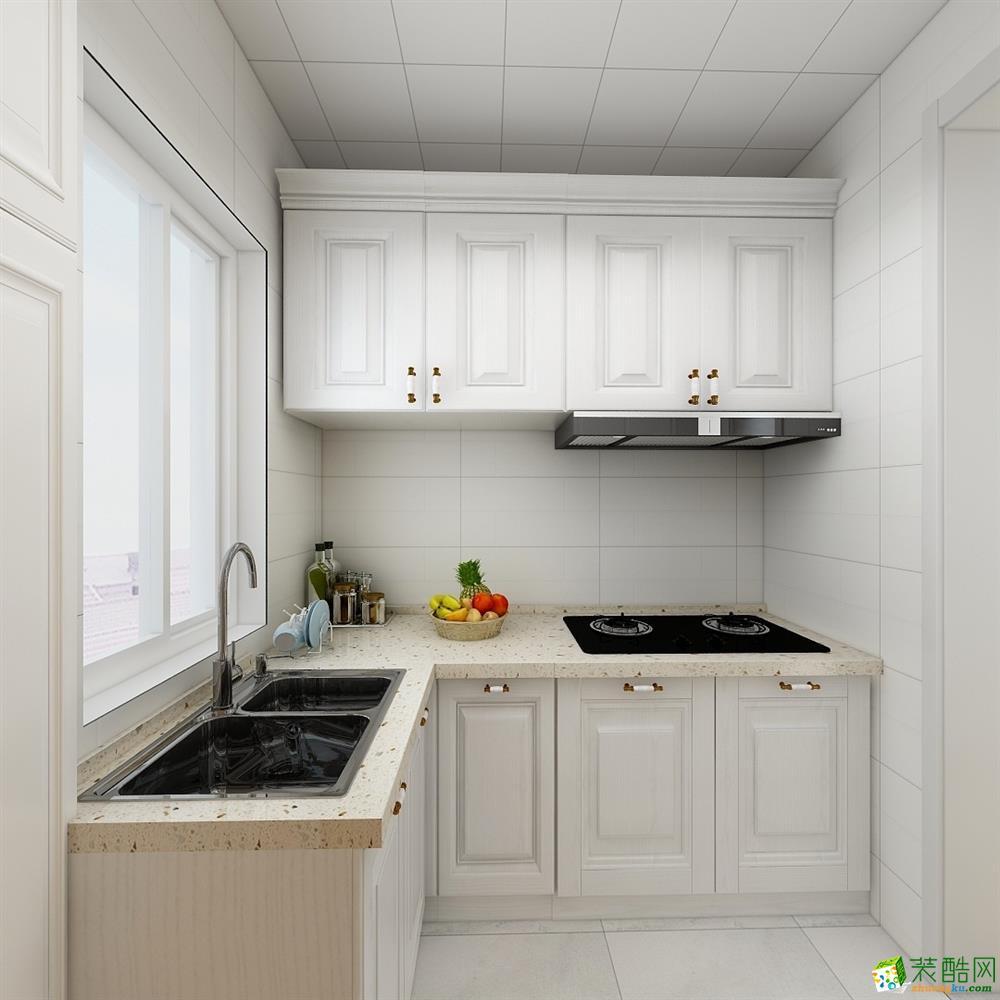 厨房 好装家装饰——41㎡小清新北欧风格装修效果图 好装家装饰——41