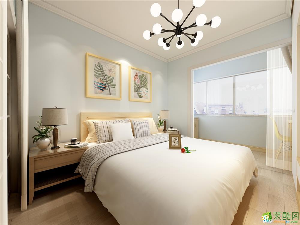 卧室 好装家装饰——41㎡小清新北欧风格装修效果图 好装家装饰——41