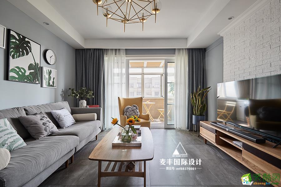 麦丰全案设计―雍熙山庄200方二手房改造装修设计