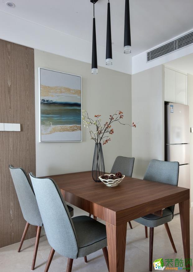 奥林装饰―89方简约现代两室两厅装修效果图