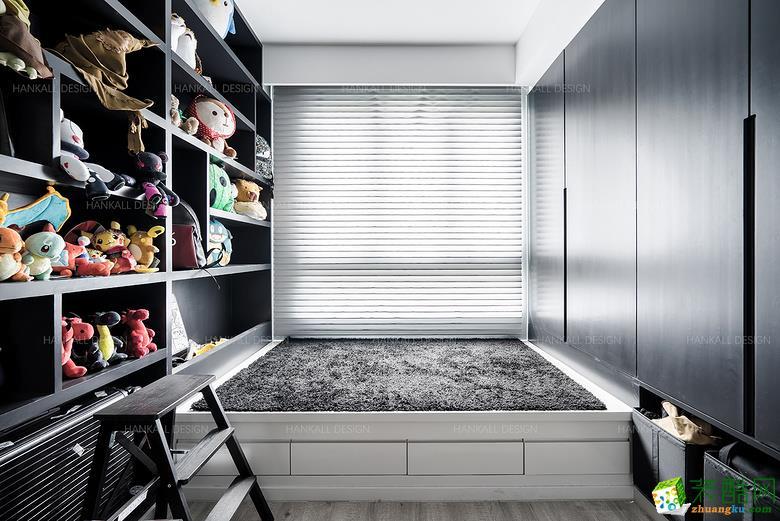 卧室  瀚高设计―180平复式混搭风格装修设计效果图