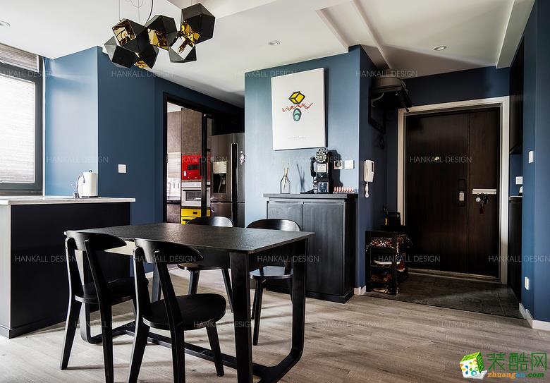 餐厅  瀚高设计―180平复式混搭风格装修设计效果图