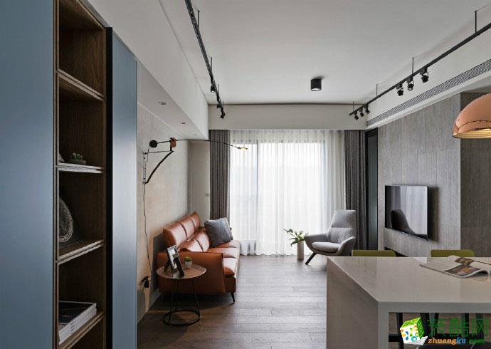 【佳天下装饰】融汇温泉城110平米现代风格三室两厅装修案例效果图