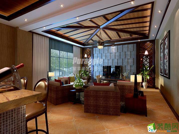 自建别墅,东南亚混搭美式