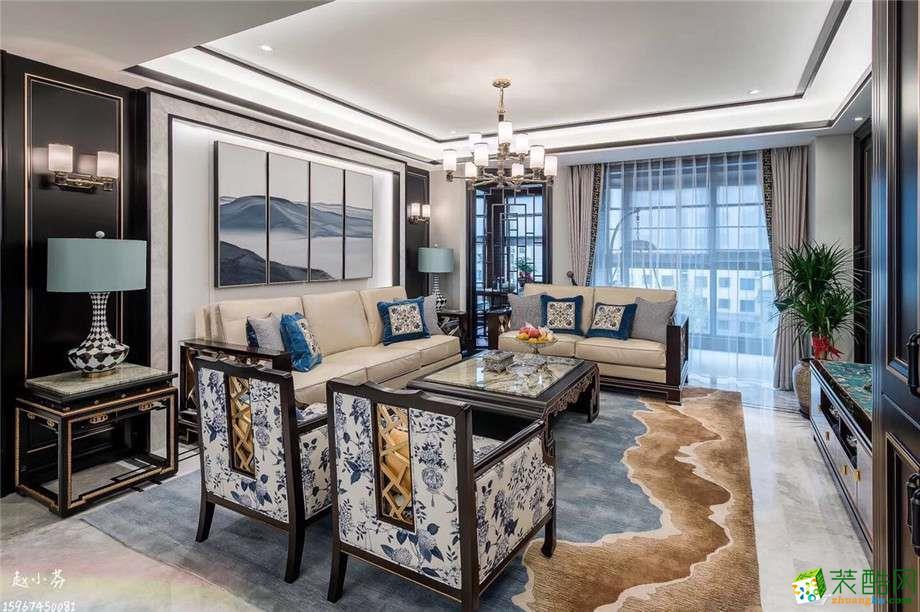 客厅  一麦设计―金域中央180方新古典风格装修设计效果图