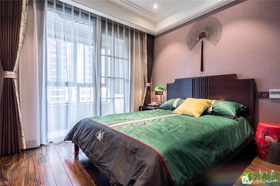 卧室  一麦设计―金域中央180方新古典风格装修设计效果图